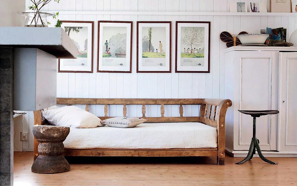 Белый дом в скандинавском стиле: советы от Хильды