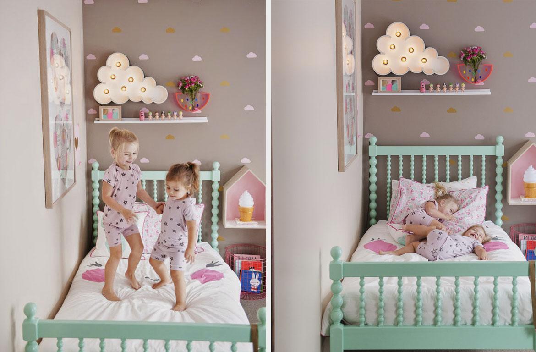 интерьер детской спальни