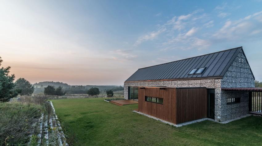 Дом в стиле минимализма в Польше