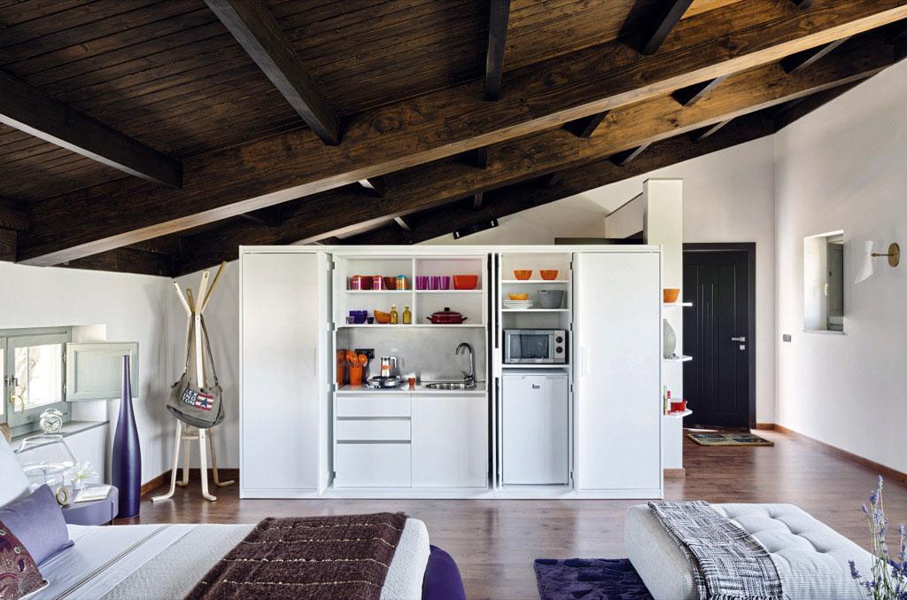 кухня в шкафу