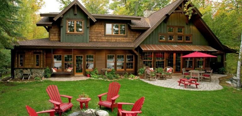 Очаровательный дом в лесу