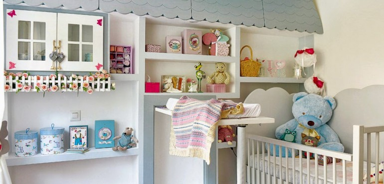 Прекрасная комната для младенца