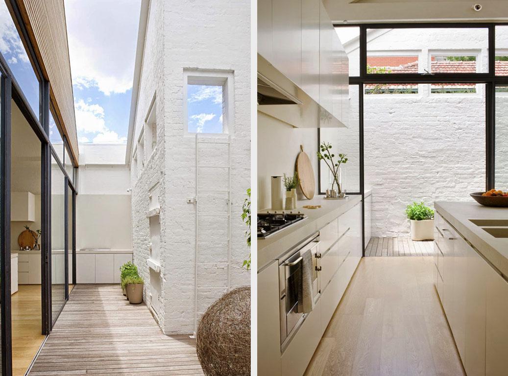 кухня и терраса