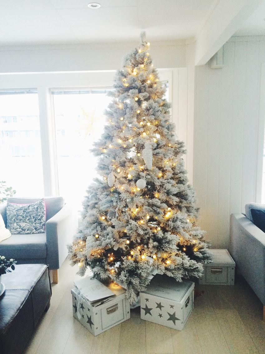 наряженная елка фото