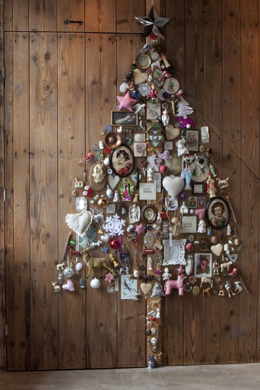 как украсить новогоднюю елку фото