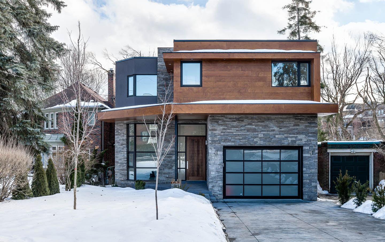 Дом в стиле хай-тек в Торонто