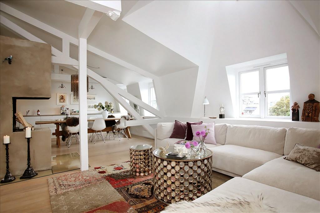 Эклектика в скандинавском дизайне