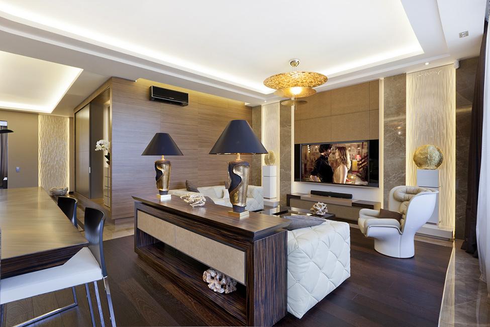 Элегантная квартира в стиле Арт-Деко
