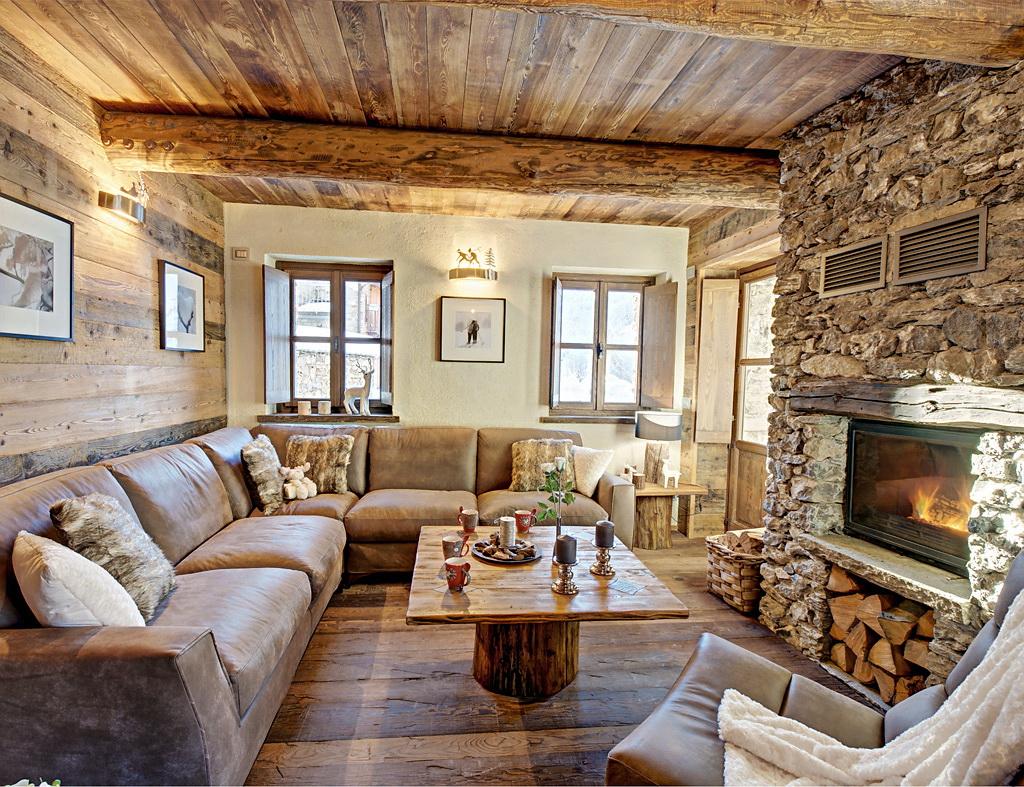 Интерьер деревянного дома от Татьяны Хауг