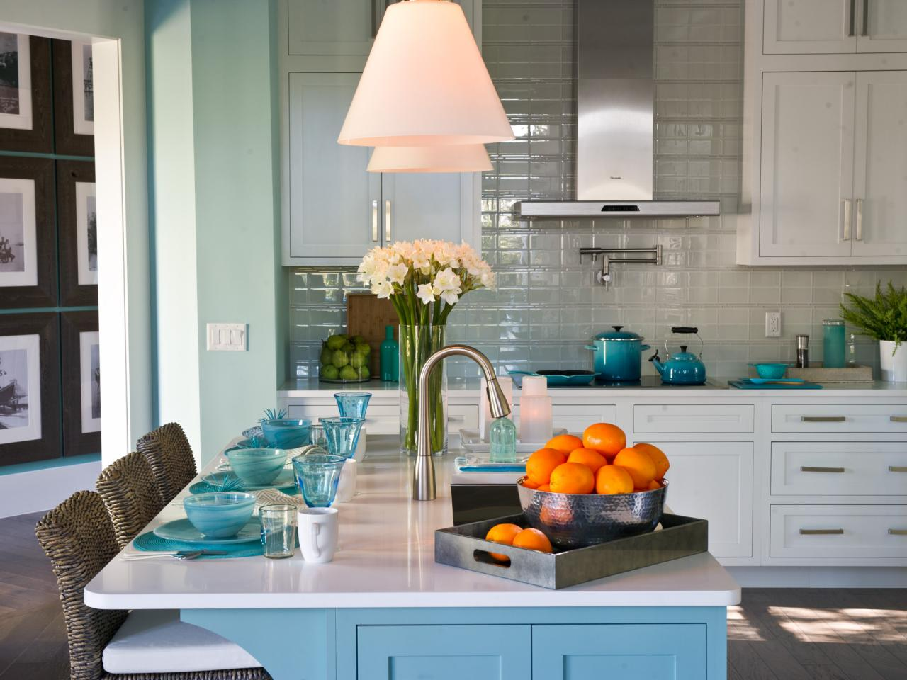 Плитка на кухню: 17 идей