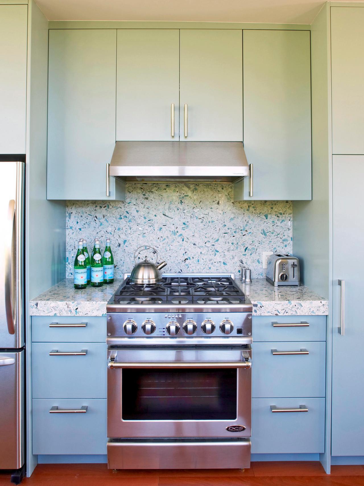 плитка в кухне фото