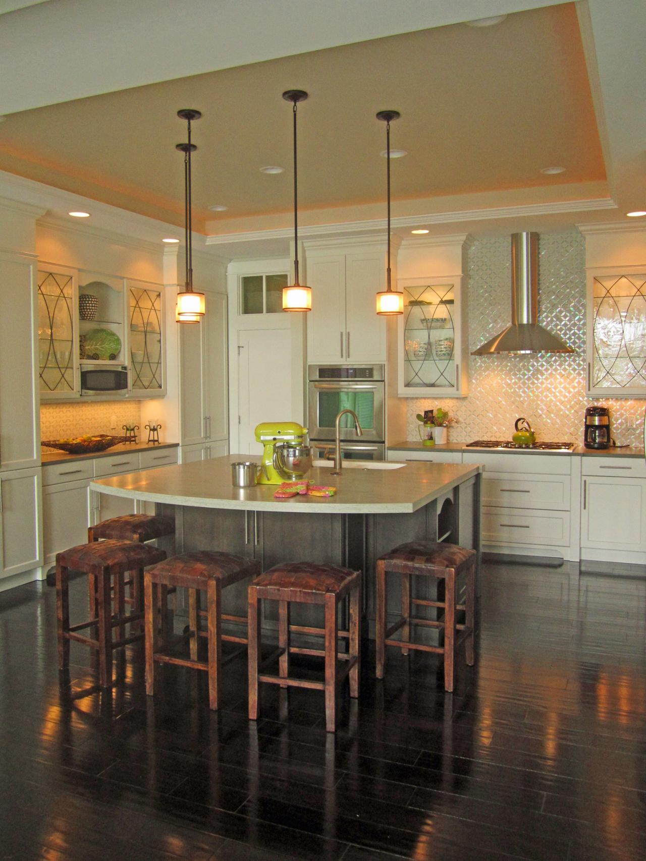 плитка на кухне фото