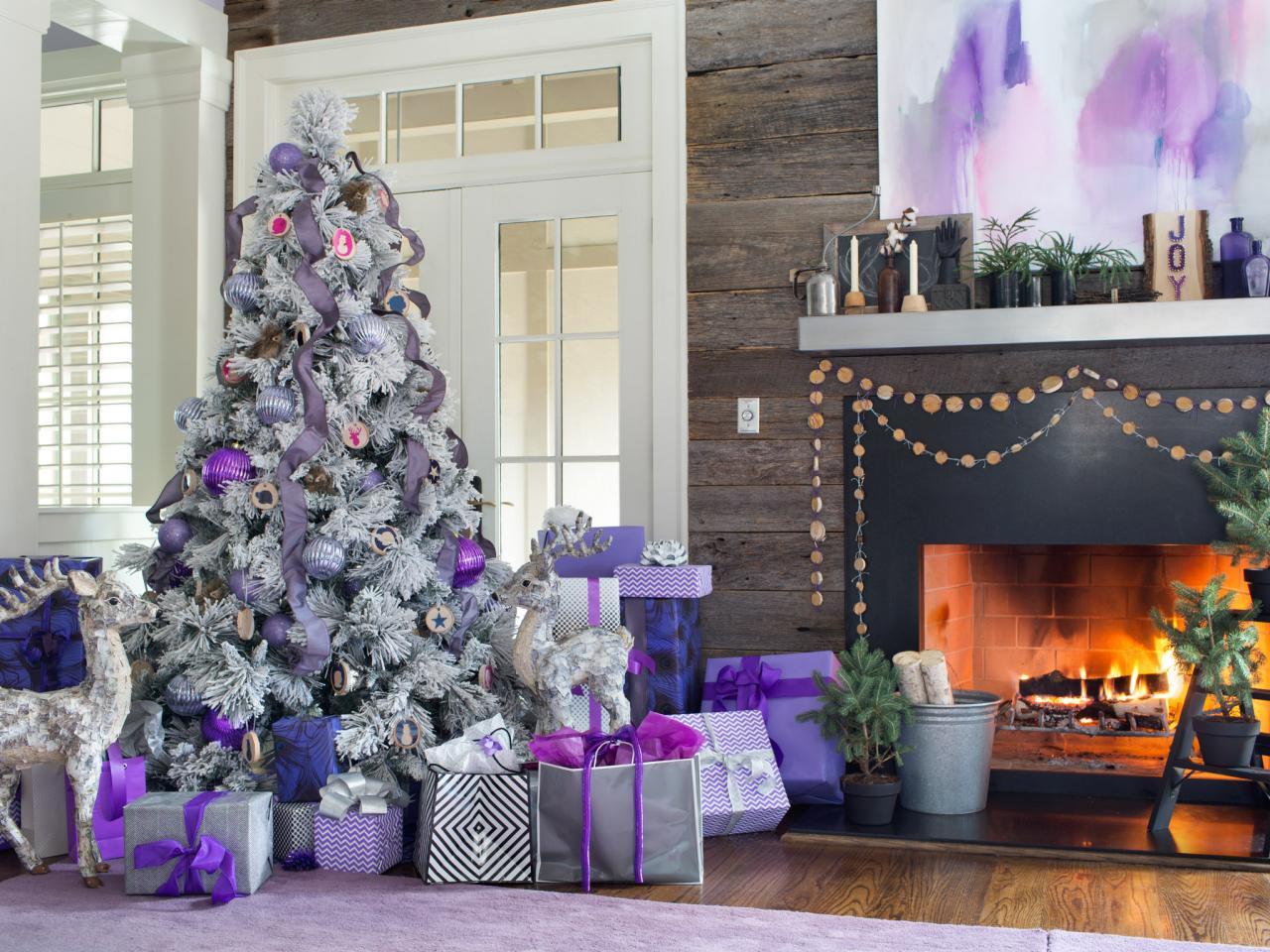 Праздник в фиолетовых тонах