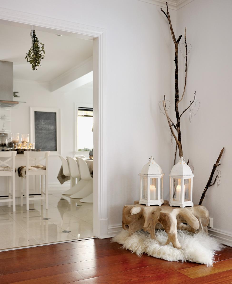 новогодние декорации дома