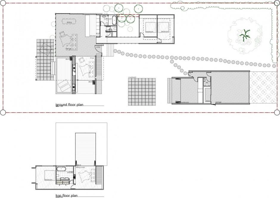 проектирование одноэтажного дома