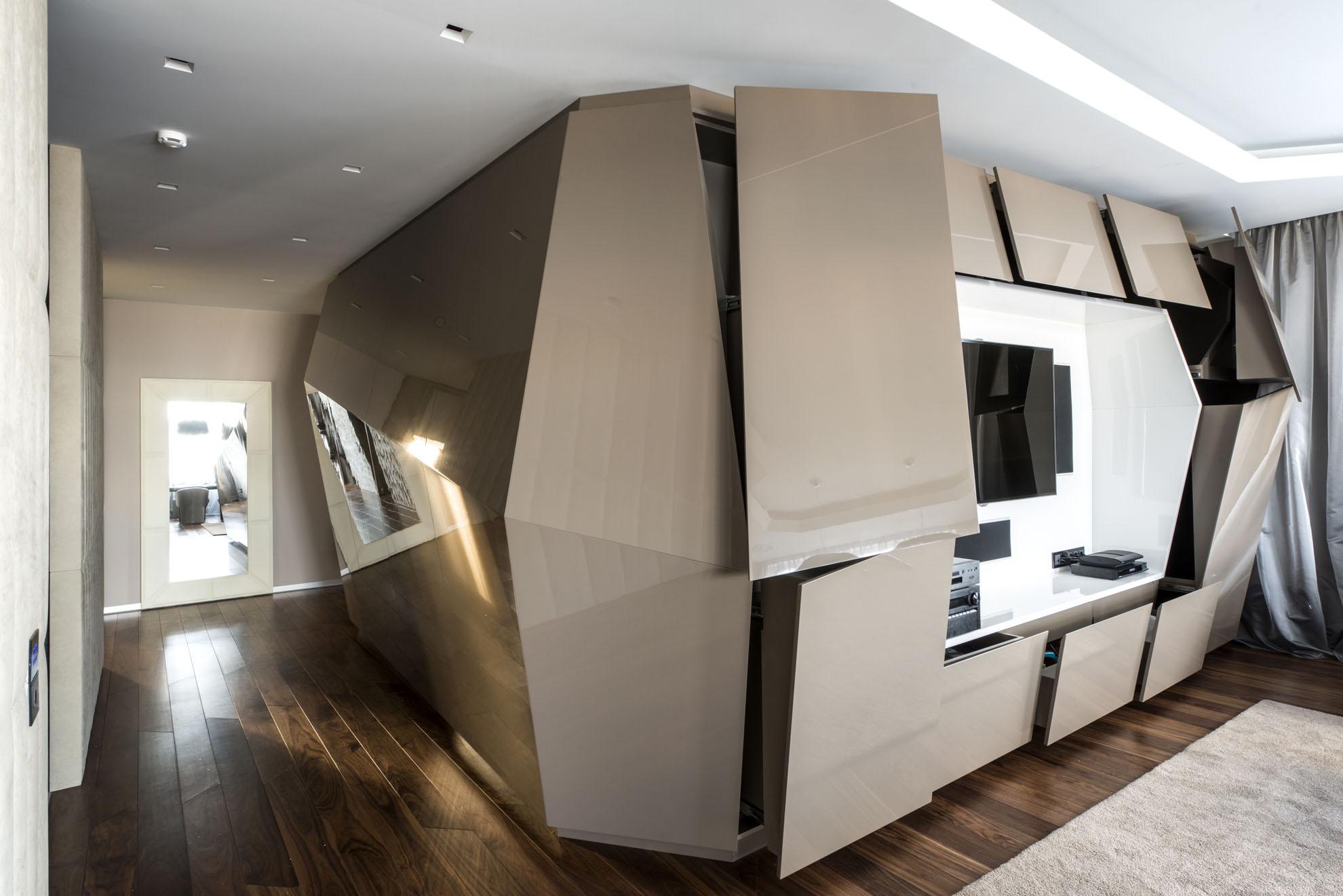 современный мебель в квартире