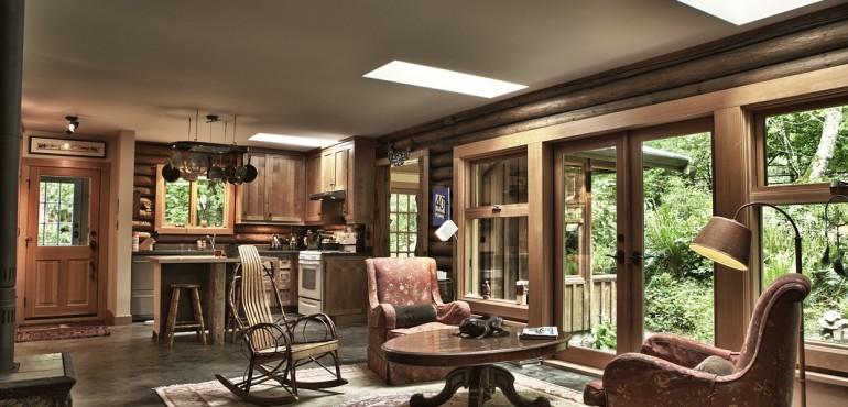 30 уютных гостиных в сельском стиле