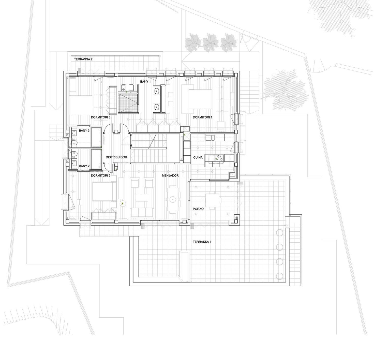 планировка двухетажного дома