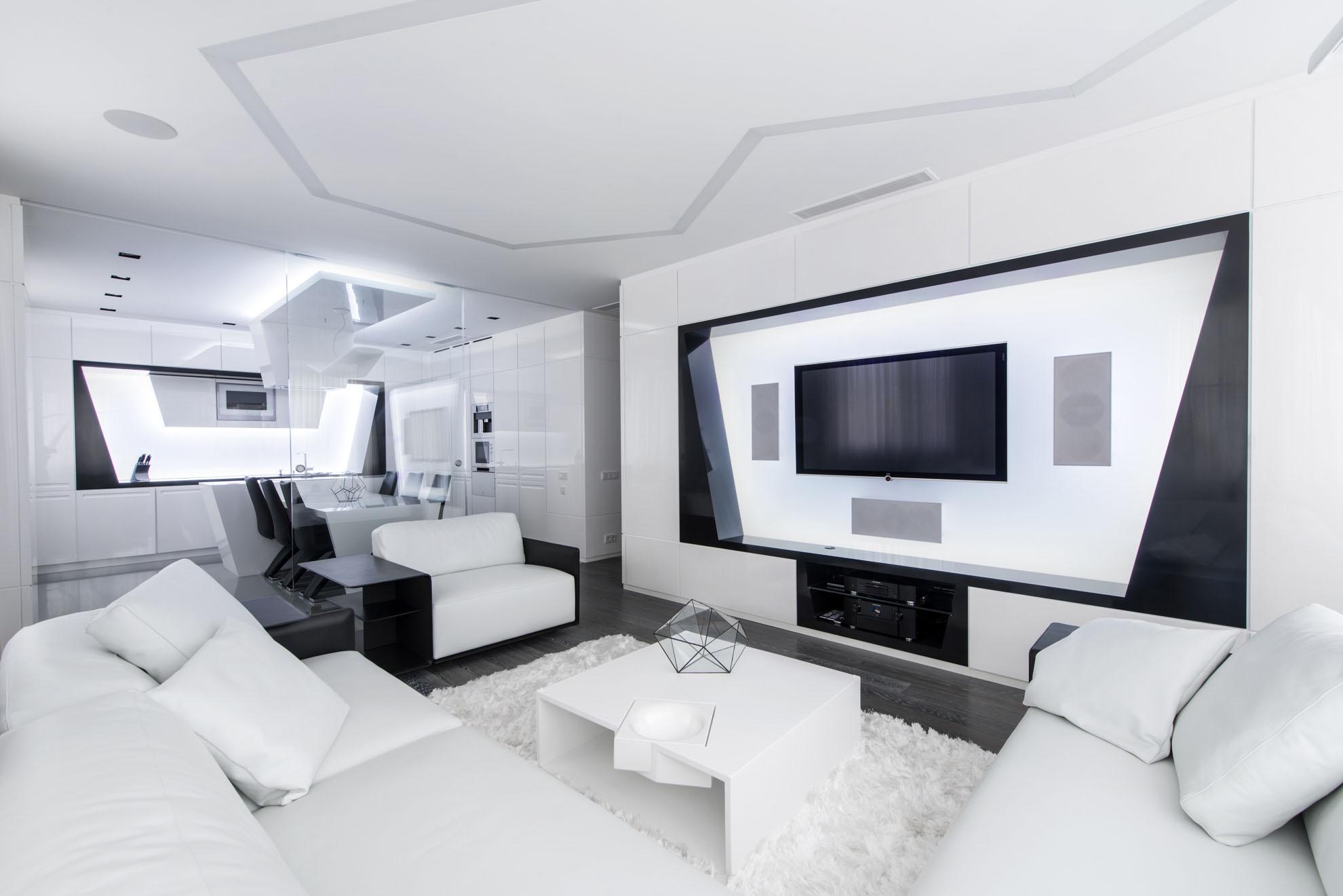 Квартира с современным дизайном