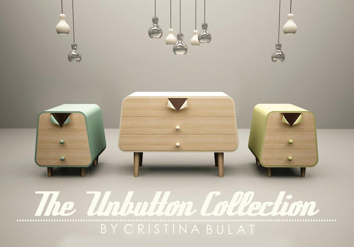 Ретро мебель в стиле Pin-Up