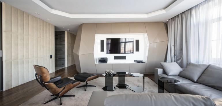 Ультрасовременная квартира от Geometrix Design