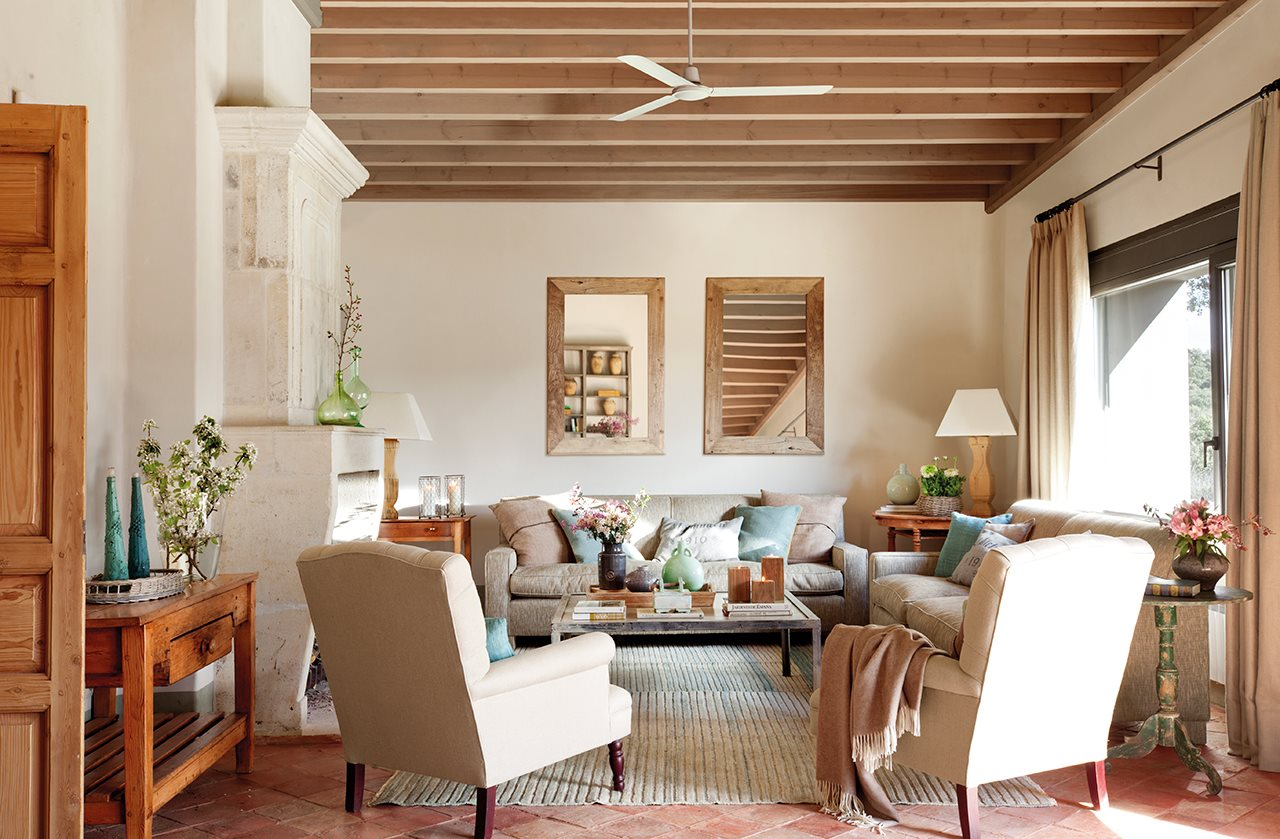 Дома в испании фото интерьер