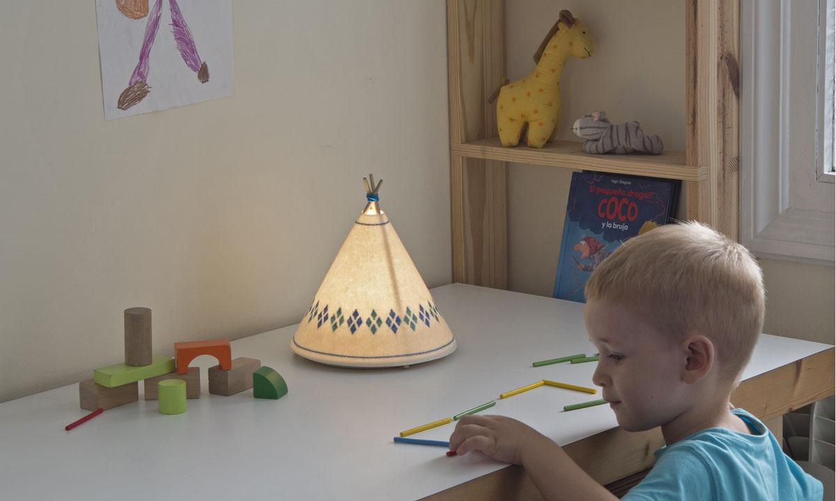 Вигвам-светильники для настоящих индейцев