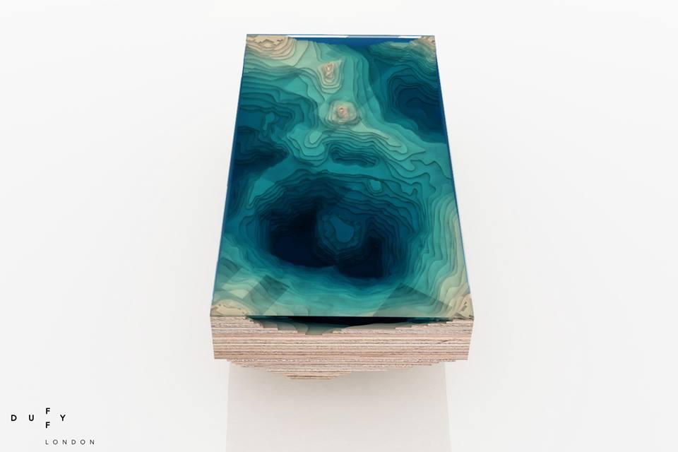 дизайнерский кофейный столик фото
