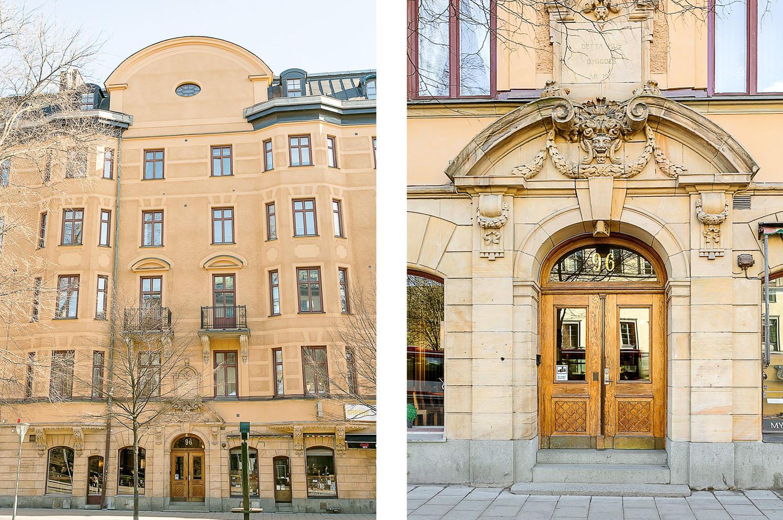 многоквартирный дом в Швеции