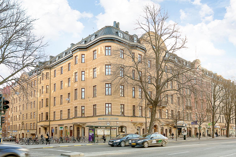 многоквартирный дом в Швеции фото