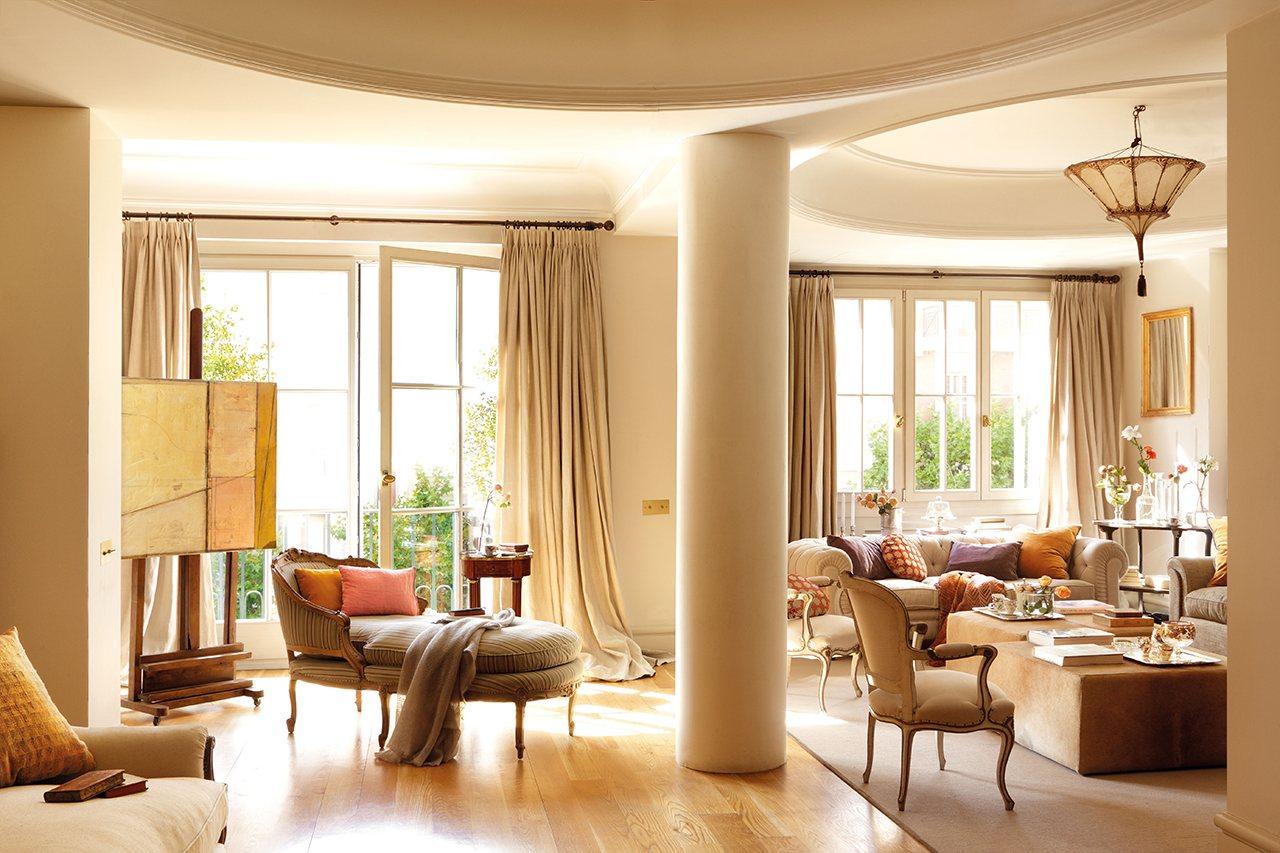 изысканный дизайн квартиры в Мадриде