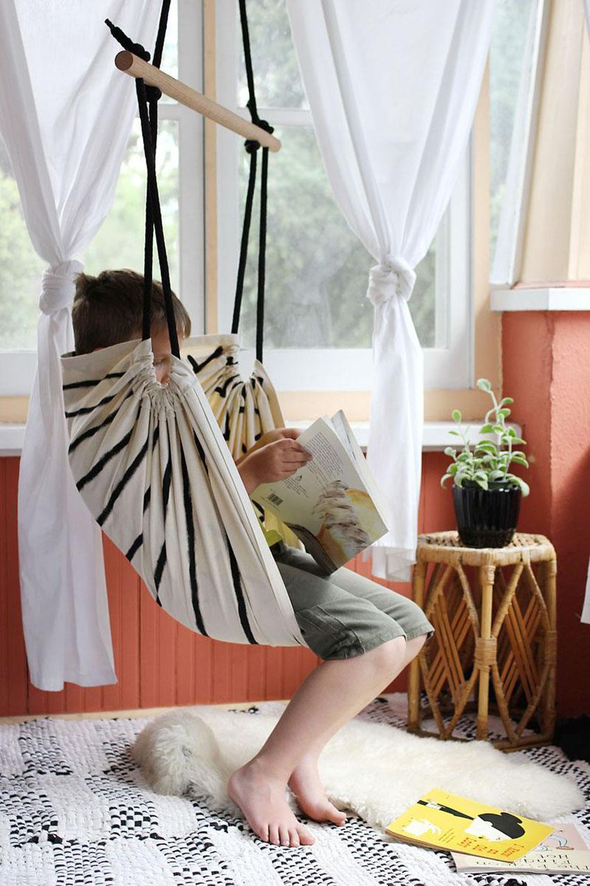 подвесное кресло гамак своими руками