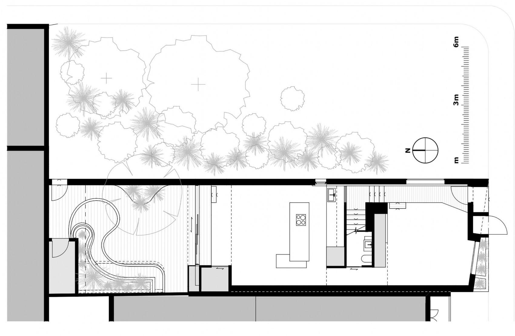 проект современного дома чертёж