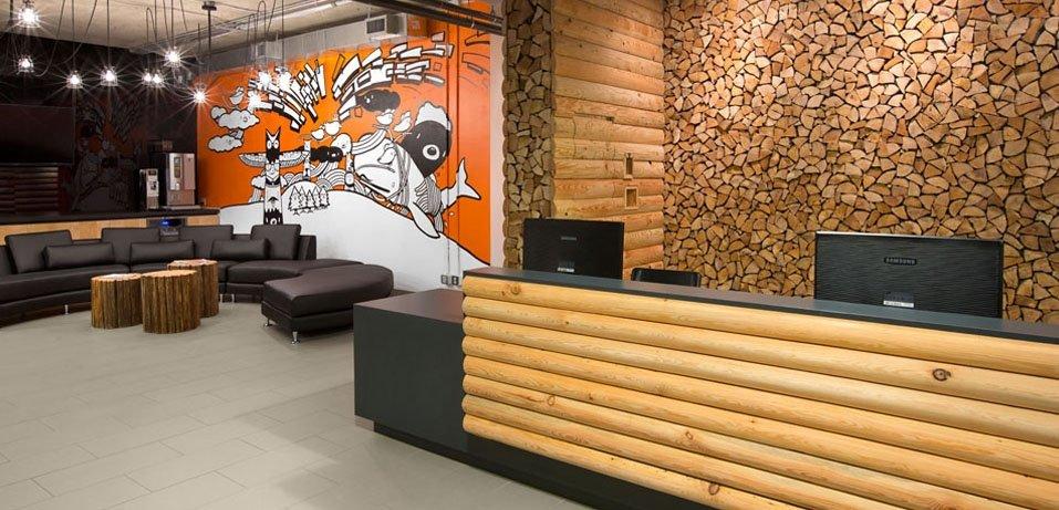 Стильный офис Hootsuite