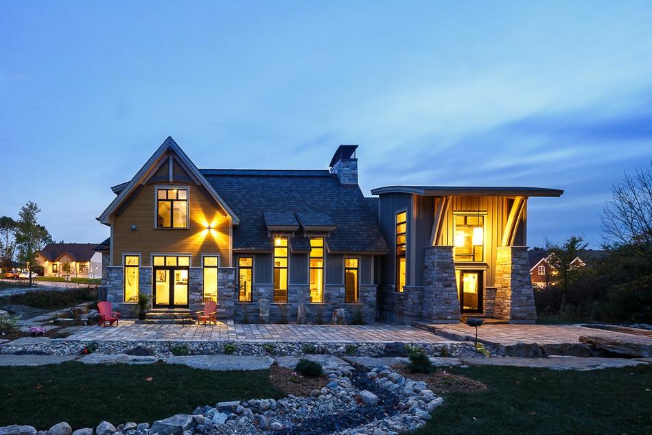 Дома в канаде фото