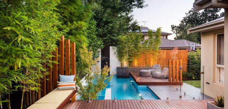 14 идей по оформлению маленьких бассейнов