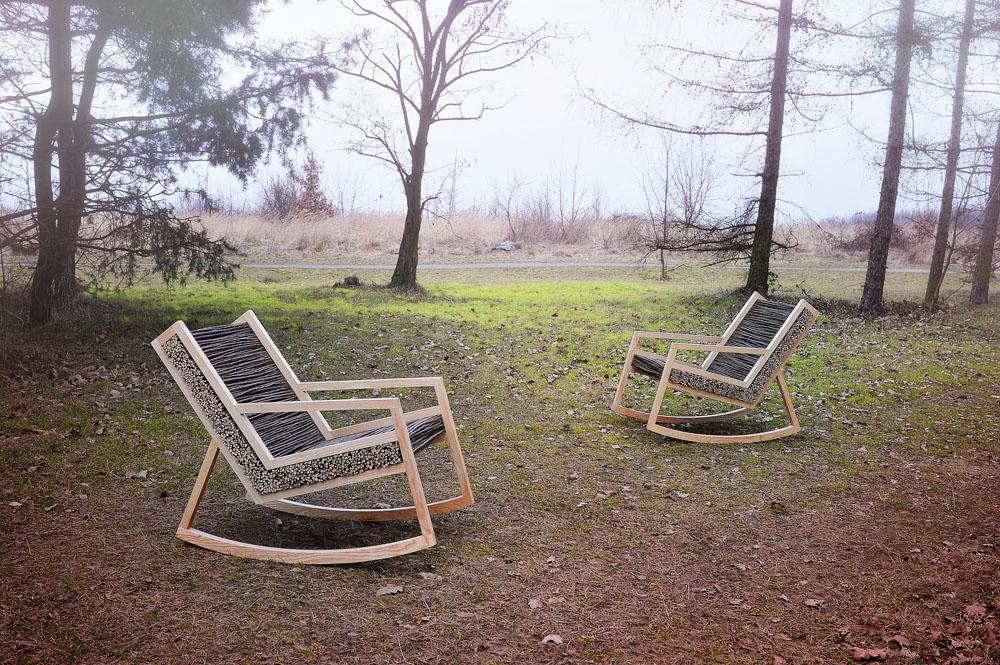 HALUZ: скандинавское кресло