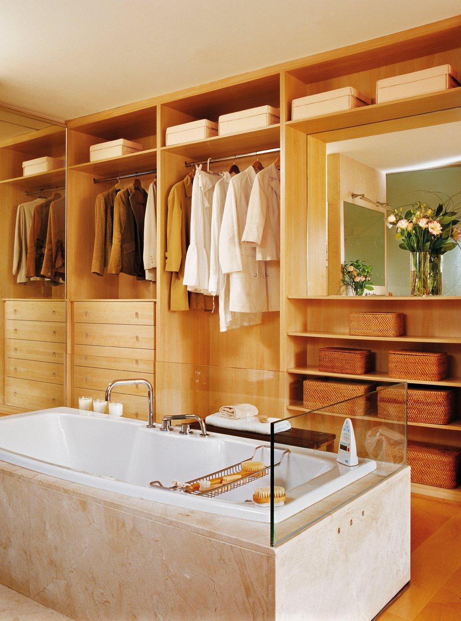 гардероб в ванной