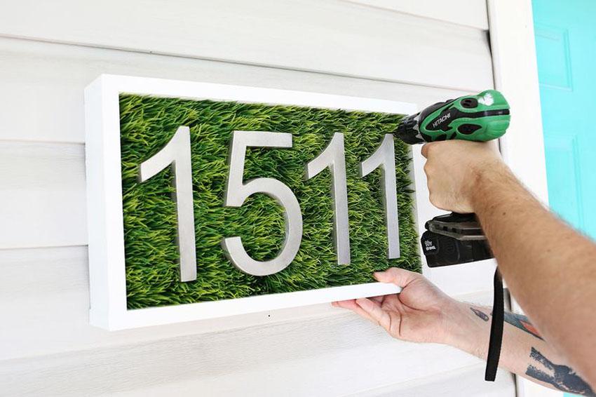 Своими руками номер для дома 131
