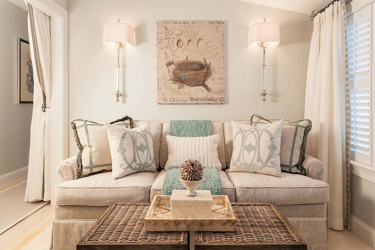 пастельный интерьер в доме
