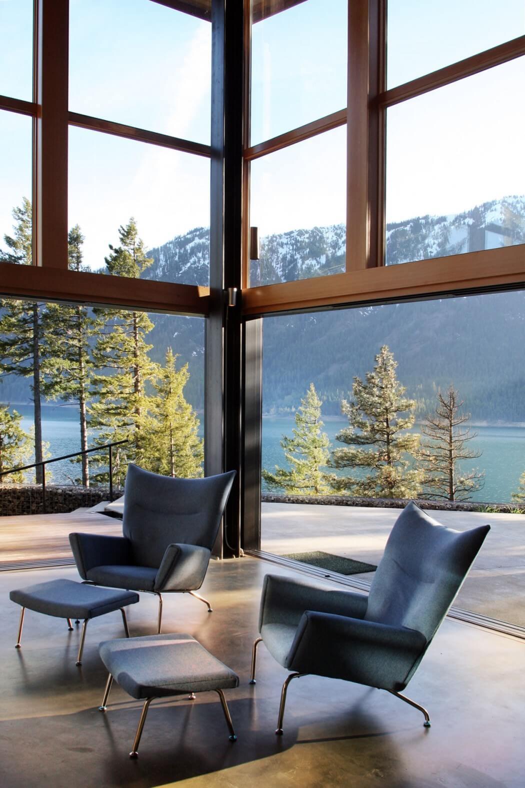 панорамный вид из гостиной