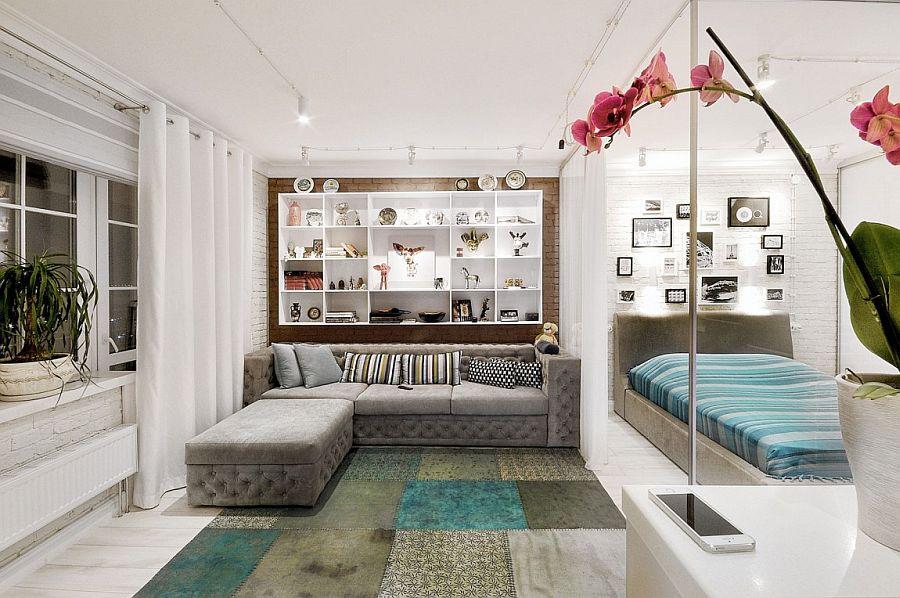 дизайн фото интерьера однокомнатной квартиры