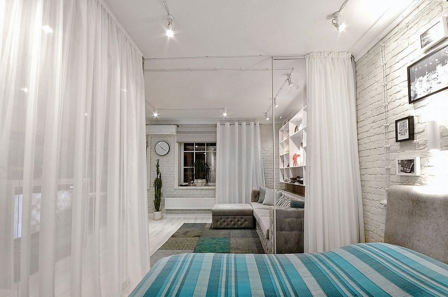 інтер'єр однокімнатної квартири фото