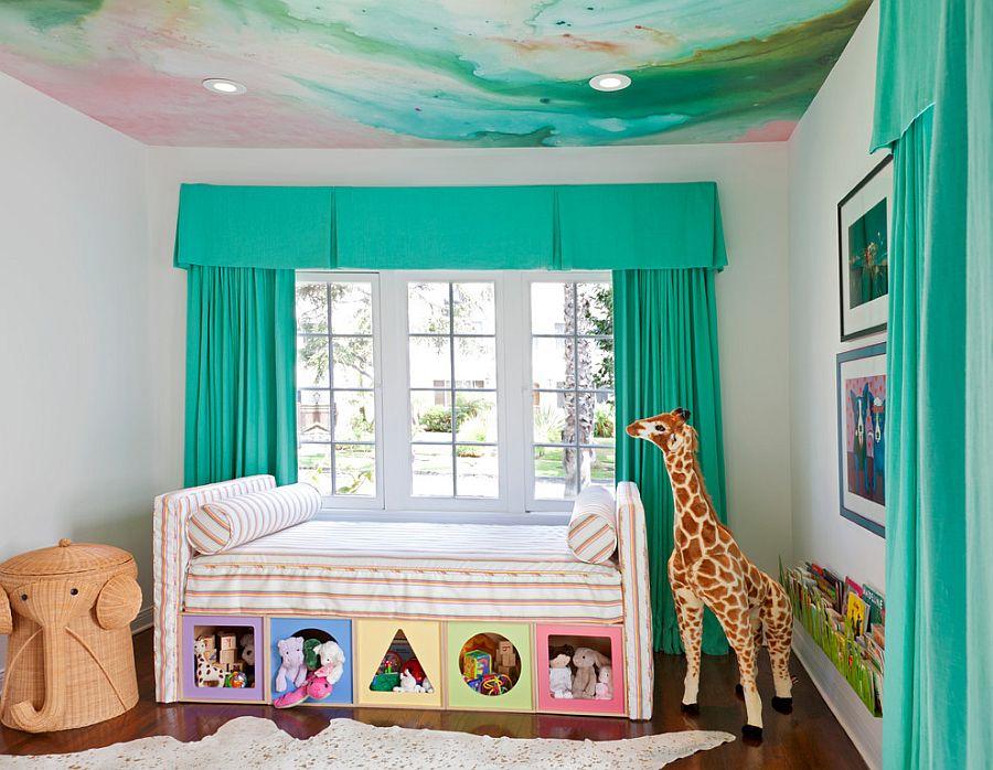 потолки для детской