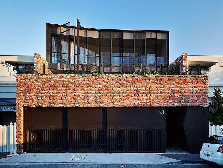 Кирпичный дом из Мельбурна