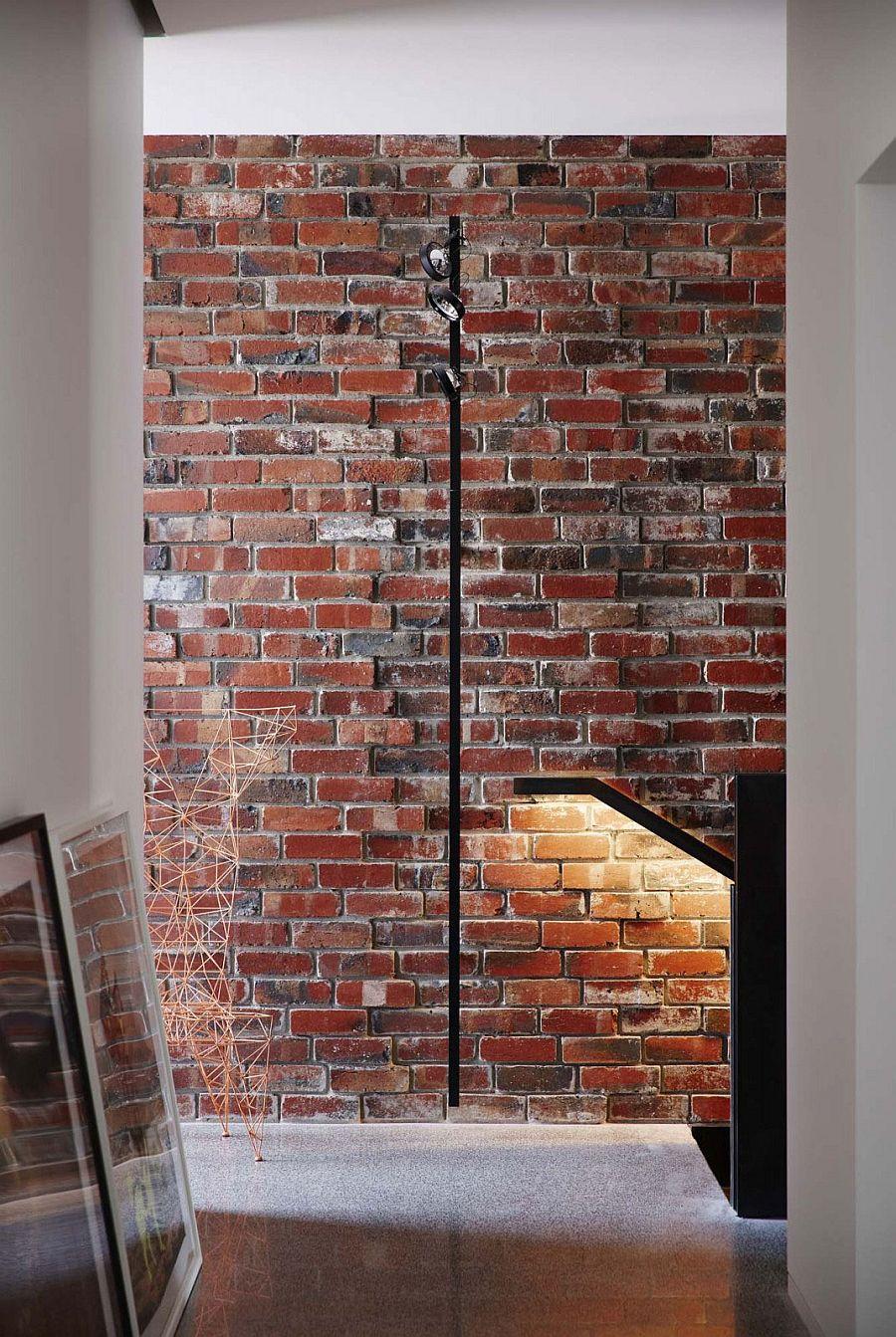 дизайн кирпичной стены