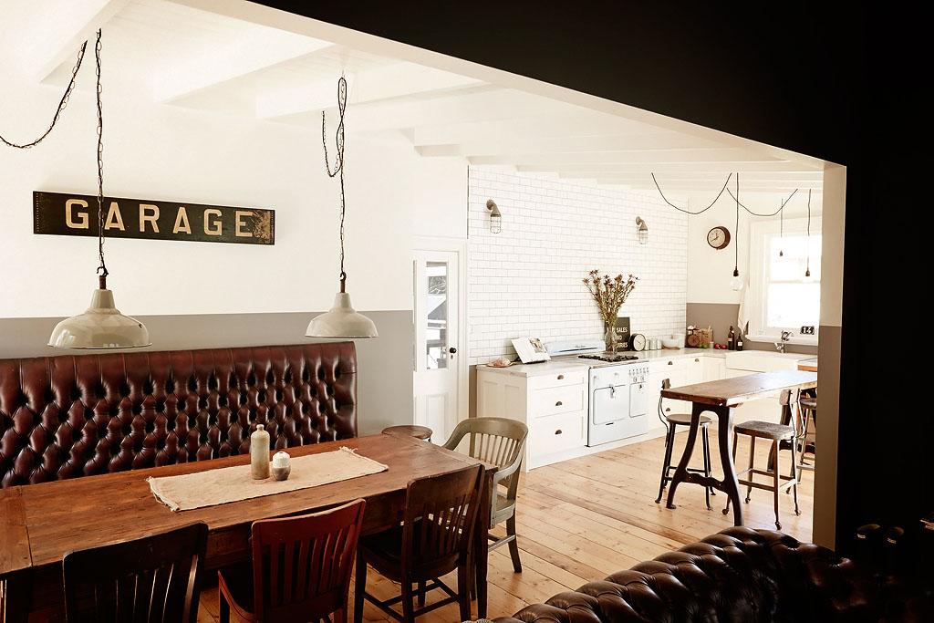 кухня-столовая интерьер фото