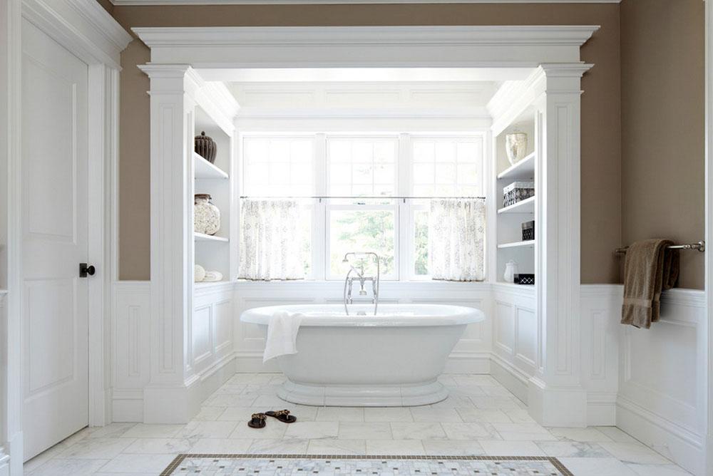 Дизайн ванной комнаты в частном доме