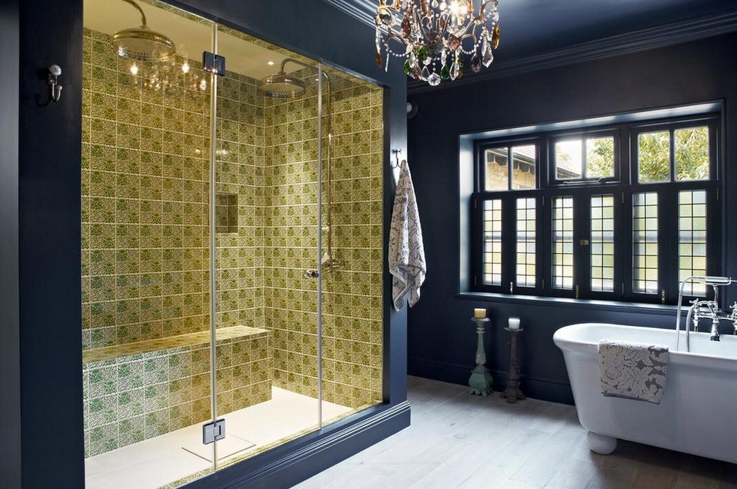 интерьер ванной в классическом стиле фото