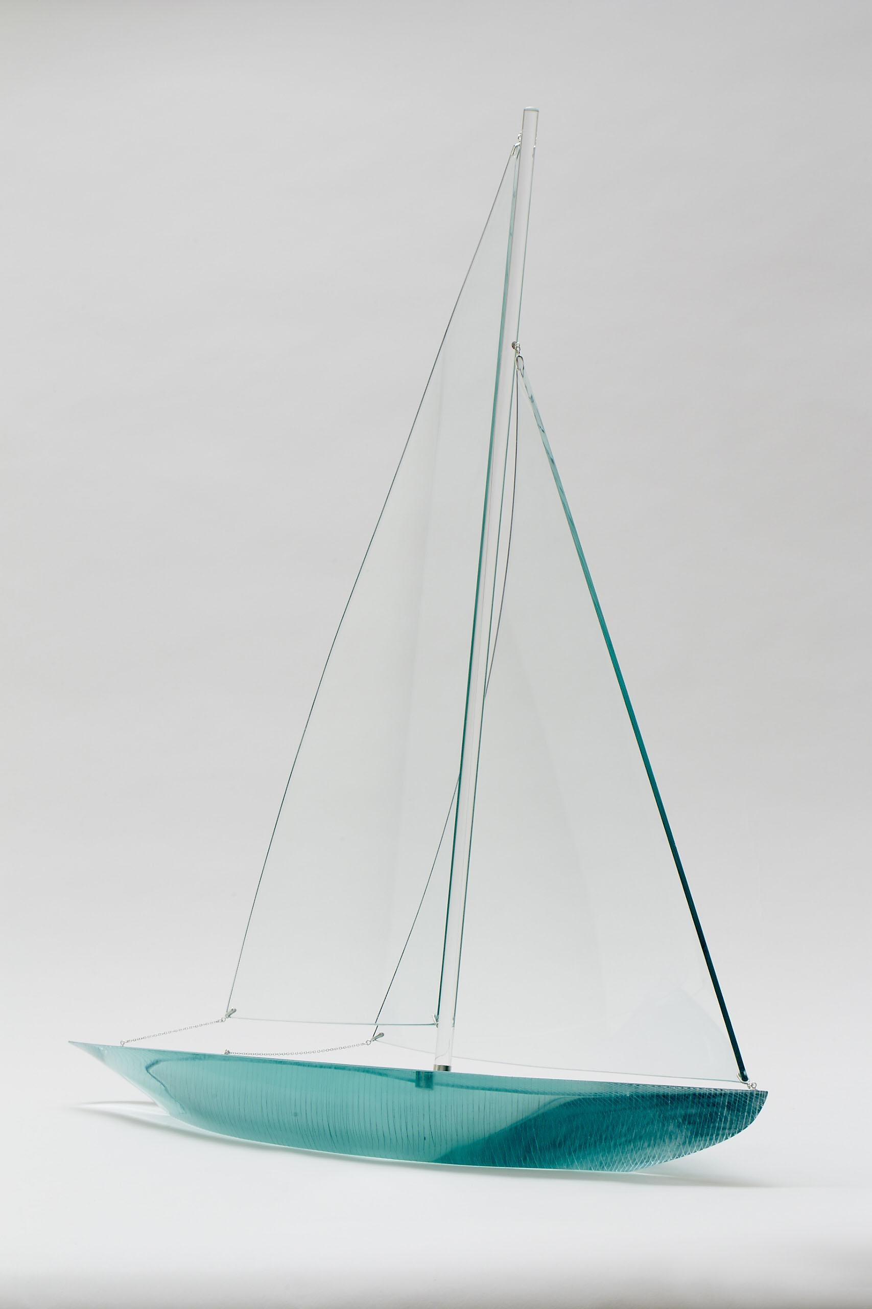 лодка из стекла фото